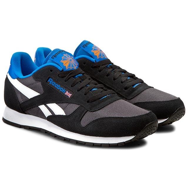 Shoes Reebok - Classic Sport Clean V67302 Black Coal White Bluesport -  Casual - Low shoes - Men s shoes - www.efootwear.eu 7ec1263ee