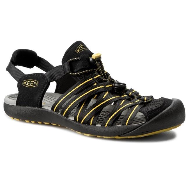 f4f303942ce5 Sandals KEEN - Kuta 1012620 Black Caylon Yellow - Sandals - Mules ...