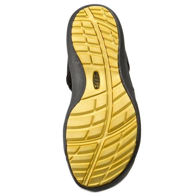 d0b0a81fc2eb Sandals KEEN - Kuta 1012620 Black Caylon Yellow - Sandals - Mules and  sandals - Men s shoes - www.efootwear.eu
