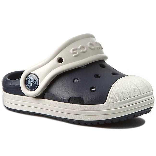 Slides CROCS - Bump It Clog K 202282 Navy Oyster - Clogs and mules ... f8945571c70