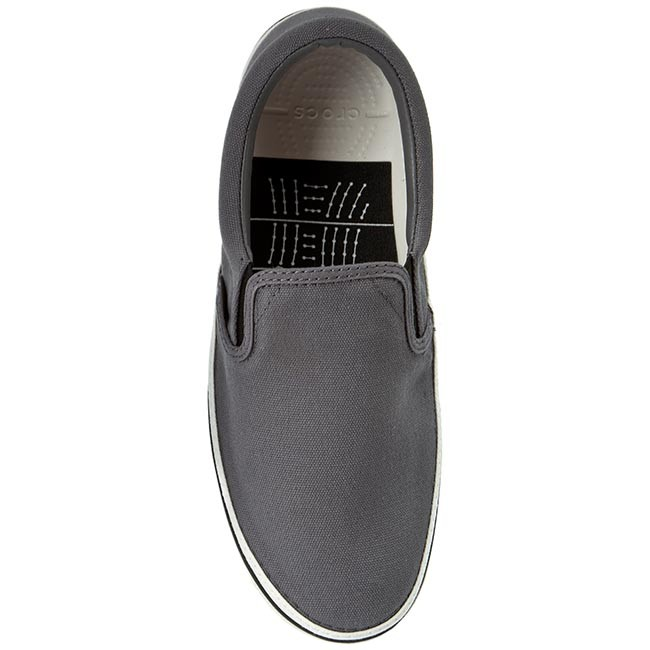 12d242c44df9d3 Plimsolls CROCS - Norlin Slip-On M 201084 Charcoal White - Casual - Low  shoes - Men s shoes - www.efootwear.eu