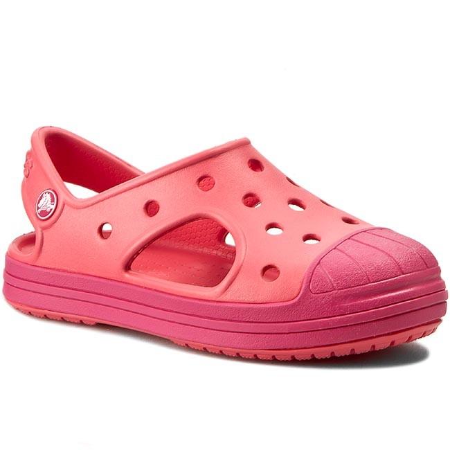 91f66a8dc4b9 Sandals CROCS - Bump It Sandal K 202610 Coral Raspberry - Sandals ...