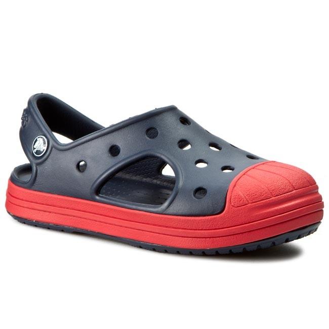 bd2ddc6d45f9 Sandals CROCS - Crocs Bump It Sandal K 202610 Navy Flame - Sandals ...