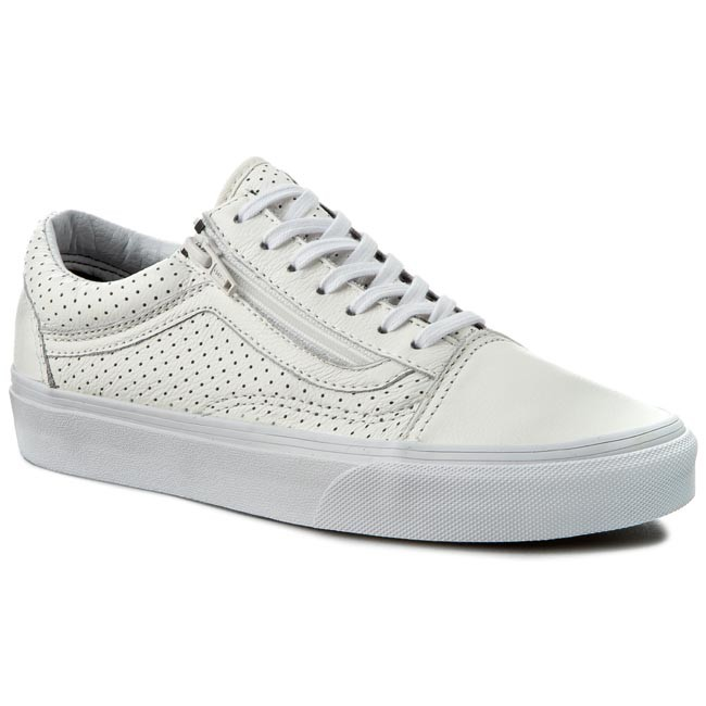 Shoes VANS - Old Skool Zip VN00018GGZO (Perf Leather) True White