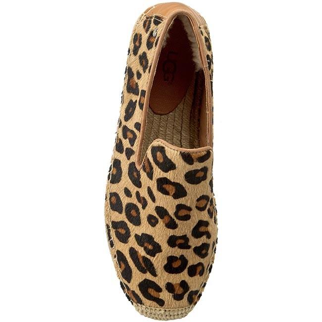 204e367b7f6 Espadrilles UGG - W Sandrinne Calf Hair Leopard 1007148 Celp