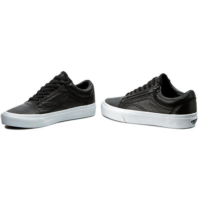 c0609f23fc Sneakers VANS - Old Skool Zip VN00018GDJ6 (Perf Leather) Black ...