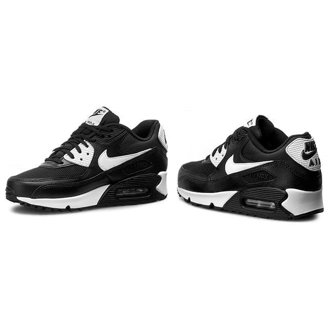 big sale e922c 1a1ab Shoes NIKE - Air Max 90 Essential 616730 023 Black White Metallic Silver