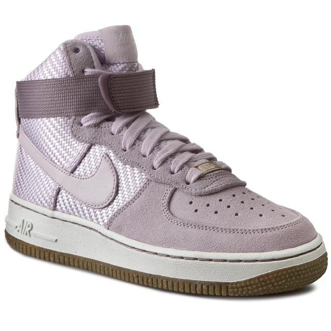 Shoes NIKE - Air Force 1 Hi Prm 654440 500 Bleached Lilac/Bleached Lilac