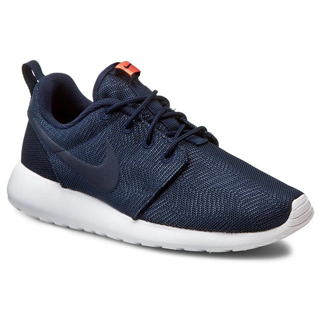 d497b201bbcc Shoes NIKE - Roshe One Moire 819961 441 Obsidian Obsdn White Brght ...