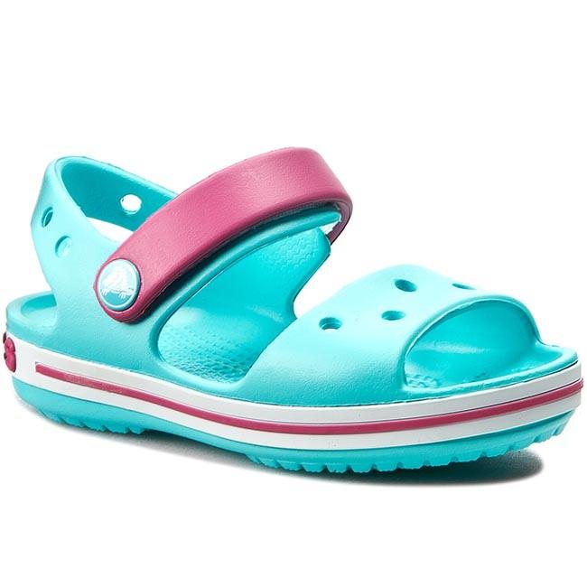 60d8337c276ccd Sandals CROCS - Crocband Sandal Kids 12856 Pool Candy Pink - Sandals ...