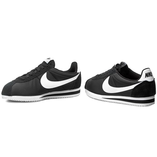 16141bc2c40c1 Shoes NIKE - Classic Cortez Nylon 807472 011 Black White - Casual ...