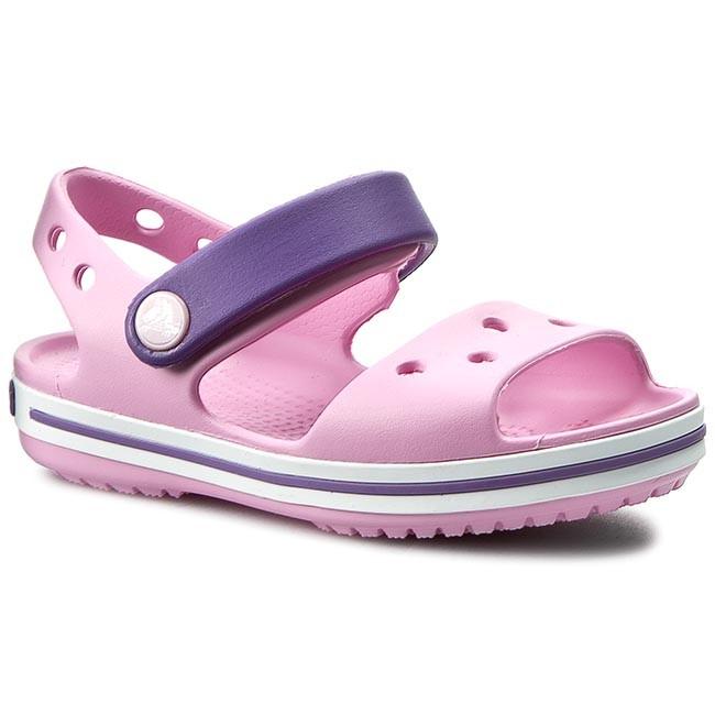 1439164cfe04b Sandals CROCS - Crocband Sandal Kids 12856 Carnation Blue Violet ...