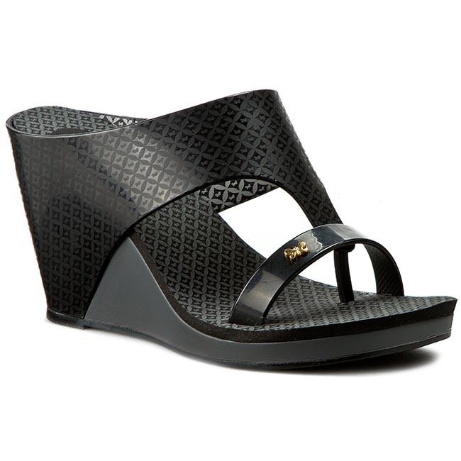 bf207f9f5d Slides ZAXY - Glamour Top II Fem 81758 Black 90058 - Flip-flops ...