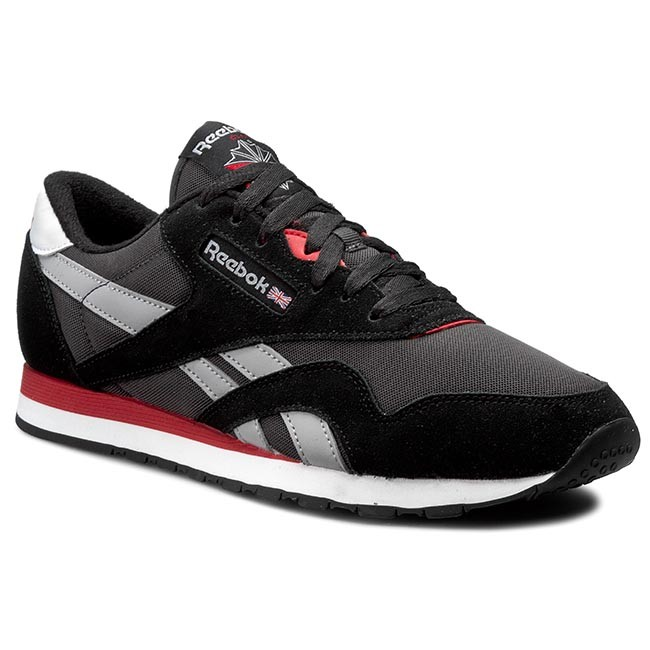 782e00c3a36c Shoes Reebok - Cl Nylon V67669 Black Coal Tin Grey