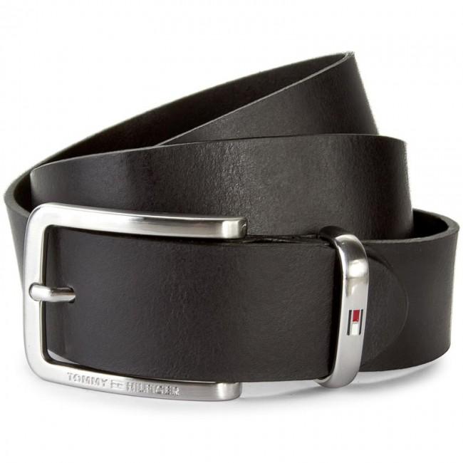 Men s Belt TOMMY HILFIGER - Metal Keeper Belt 3.5 AM0AM01304 90 Black 002 -  Men s belts - Belts - Leather goods - Accessories - www.efootwear.eu 0d29876acc0