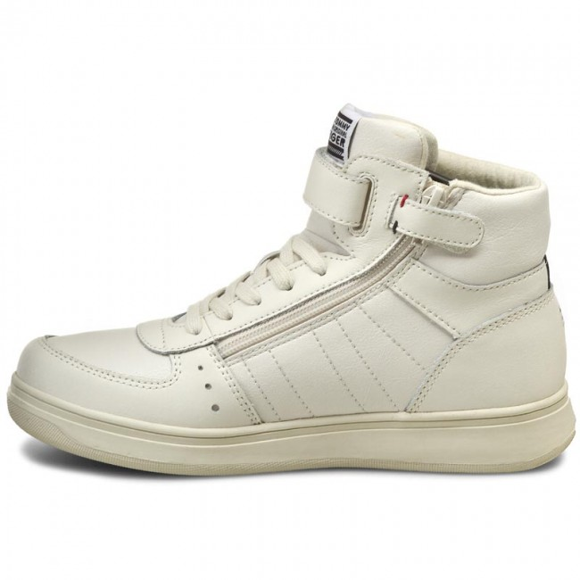 39cb3f962df72c Boots TOMMY HILFIGER - Zero Jr 4A FB56821766 Off White 156 - Boots - High  boots and others - Boy - Kids  shoes - www.efootwear.eu