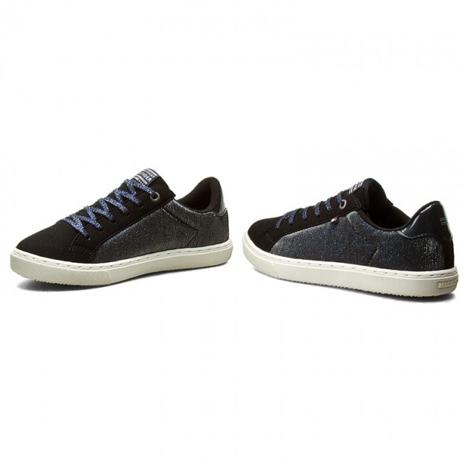 a6f0e5eb2d5d Shoes TOMMY HILFIGER - Woolie Jr 2C FG56821953 Midnight 404 - Laced ...