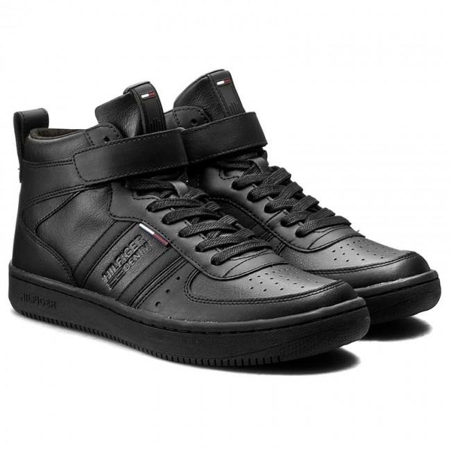 Sneakers TOMMY HILFIGER - DENIM Jump 1A EM56822086 Black 990 - Casual - Low  shoes - Men s shoes - www.efootwear.eu 6b24b75996a