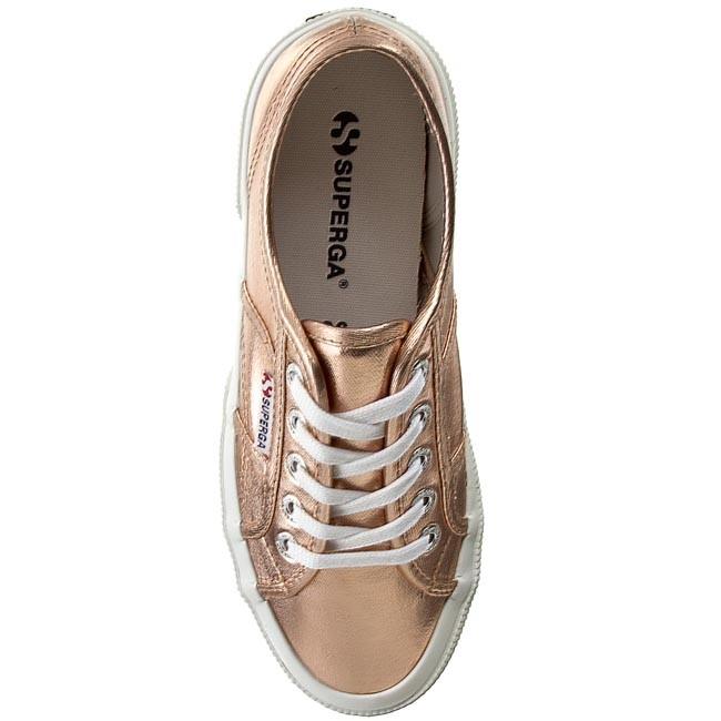 17cd77b8fd2 Plimsolls SUPERGA - 2750 Cotmetu S002HG0 Rose Gold 916 - Flats - Low shoes  - Women s shoes - www.efootwear.eu