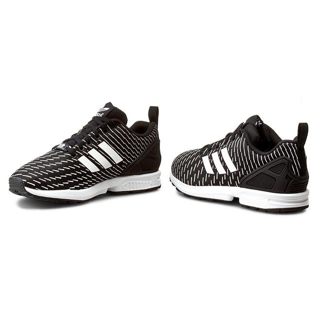 premium selection 84356 2b64d Shoes adidas - Zx Flux S75525 Cblack Cblack Ftwwht