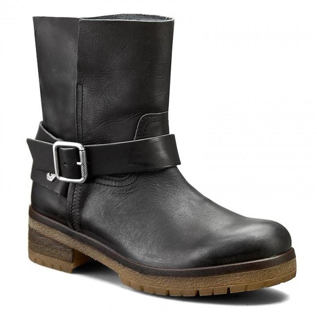 Boots TOMMY HILFIGER - DENIM Cannes 5A EN56821937 Black 990 - Boots ... 64f3d20146e