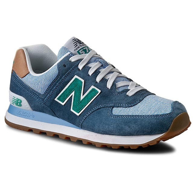 new balance lifestyle. sneakers new balance - lifestyle ml574pia blue new balance c