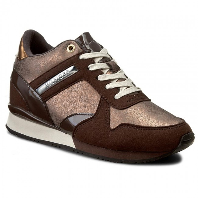 e63aa275f Sneakers TOMMY HILFIGER - Sady 13C2 FW56821999 Cofeebean Bronze 212 ...
