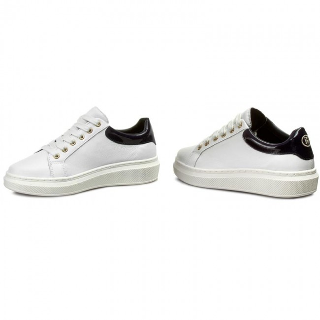 5d789088a311 Sneakers TOMMY HILFIGER - Sabrina 1A FW56822036 White Midnight 100 ...