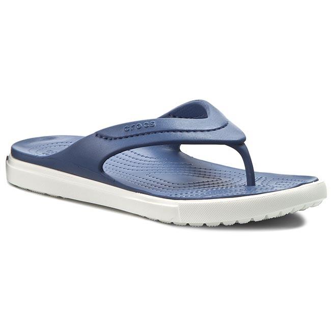 Men's Crocs CitiLane Flip Sandals (Bijiou Blue/White) - OQ939P12