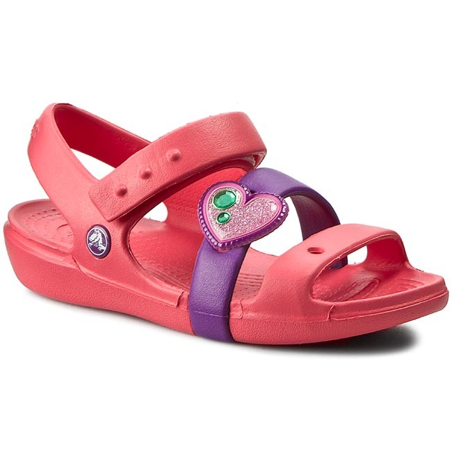 9e1d0fb54 Sandals CROCS - Keeley Springtime Sandal Ps 202614 Coral Amethyst ...