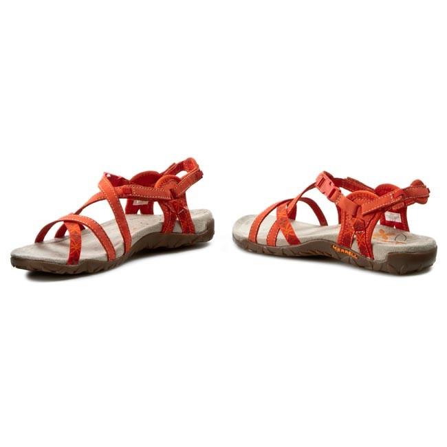 6865e6d45504 Sandals MERRELL - Terran Lattice J22232 Red Clay - Casual sandals ...
