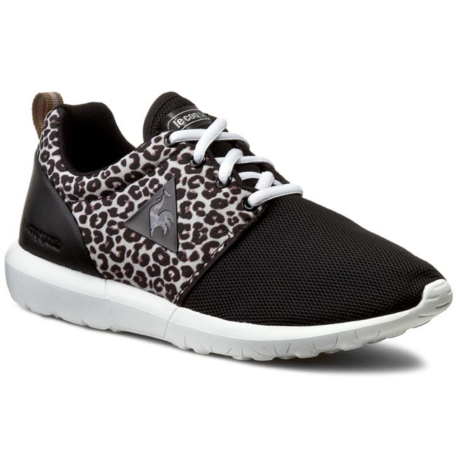Sneakers LE COQ SPORTIF - Dynacomf W Animal 1610547 Black Grey Morn ... 31ac51dc408