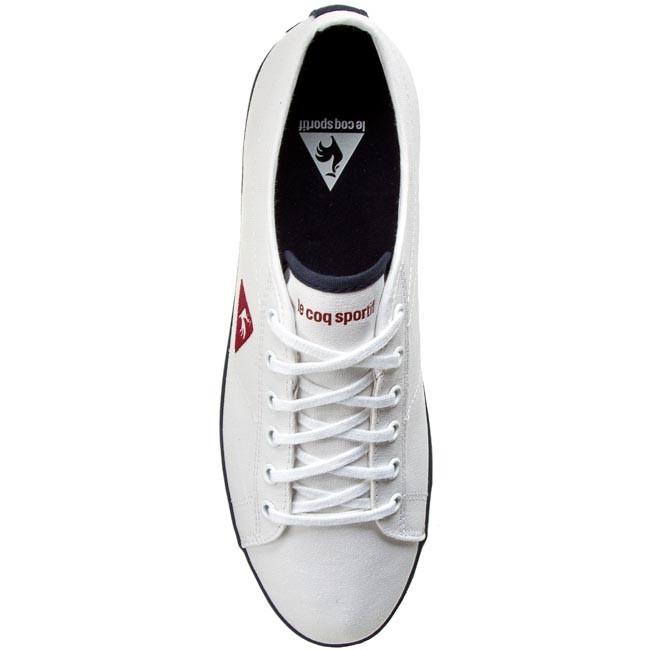 f4de10d5d2fd Plimsolls LE COQ SPORTIF - Slimset 1610659 Optical White - Casual - Low  shoes - Men s shoes - www.efootwear.eu