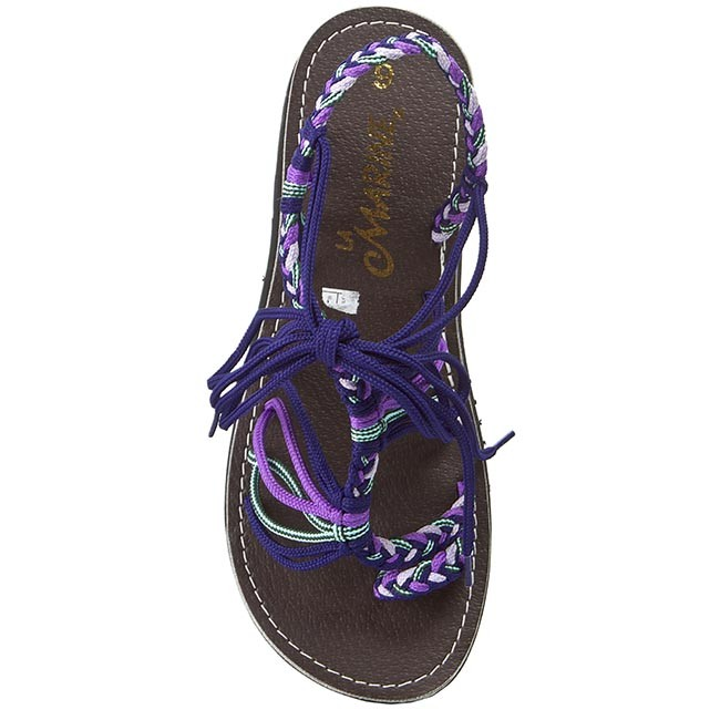 Sandals LA MARINE - Gala Flat Purple - Casual sandals - Sandals - Mules and  sandals - Women s shoes - www.efootwear.eu 9ed6d380706