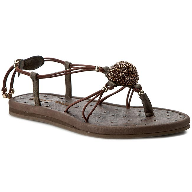 f52250e4c0970 String Casual La Tong Cosmo Ankys Sandals Marine Brown Slides UpAqxBEHw