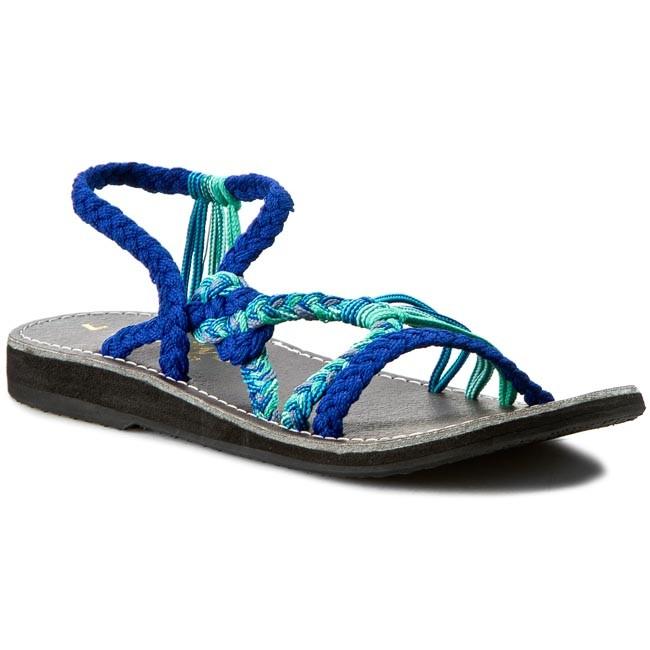 Sandals LA MARINE - Helia Bleu Electrique 8a47797ae9b