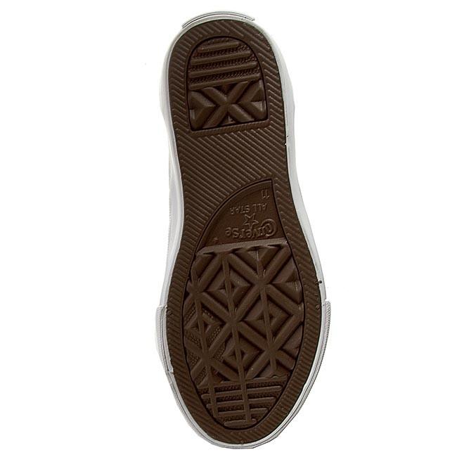 e8e80136c0b Plimsolls CONVERSE - Ctas Core Slip 651775C White Natura - Slided shoes -  Low shoes - Girl - Kids  shoes - www.efootwear.eu