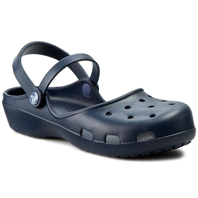a68bed3d3ff0ea Sandals CROCS - Karin Clog W 202494 Navy - Casual sandals - Sandals ...