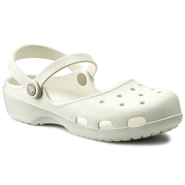 Sandals CROCS - Karin Clog W 202494 Oyster