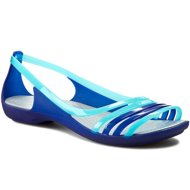 9e7f5771873 Crocs Isabella Huarache Flat
