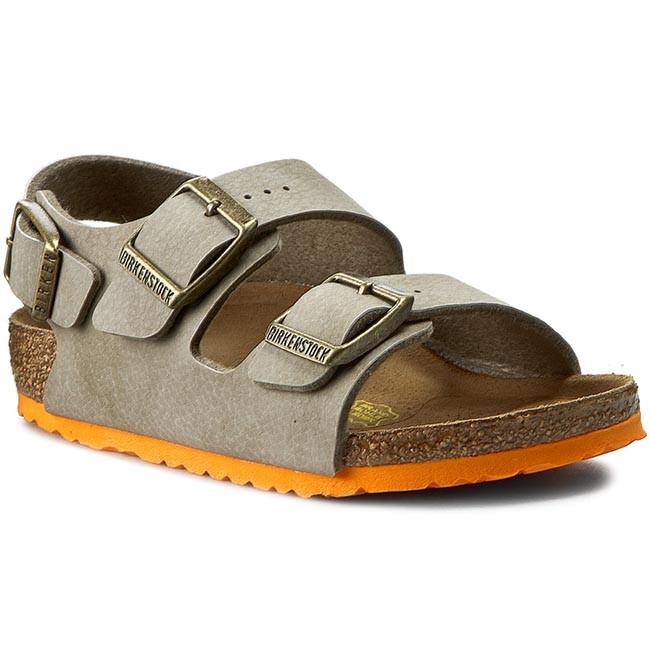 1838df142ece7 Sandals BIRKENSTOCK - Milano Kinder 0035183 Desert Soil Taupe ...