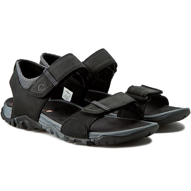 f621076b2a4d Sandals MERRELL - Telluride Strap J71101 Black - Sandals - Mules and sandals  - Men s shoes - www.efootwear.eu