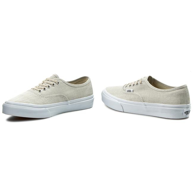 Plimsolls Slim chambray Graytrue Authentic Vn000xg6iay Vans Wht z0qHwzrf7