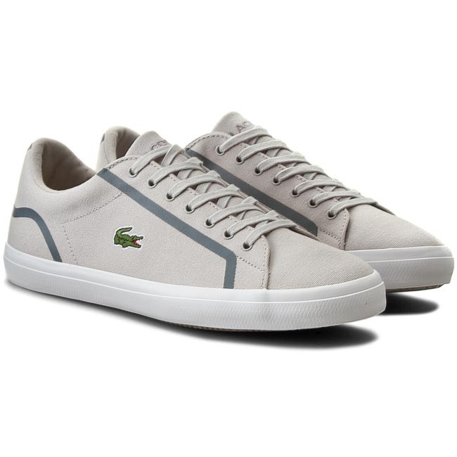 7ecab6e528d0f Plimsolls LACOSTE - Lerond 216 1 Spm Lt 7-31SPM0053334 Gry - Casual - Low  shoes - Men s shoes - www.efootwear.eu