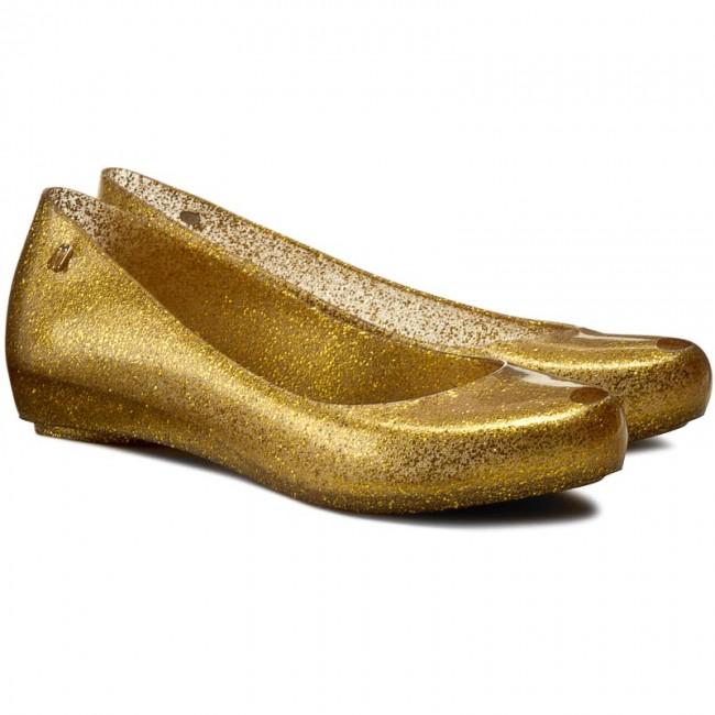 Flats MELISSA - Melissa Ultragirl XII Ad 31868 Gold Glitter 51800