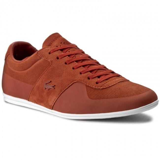 Mens Lacoste Turnier 216 1 Sneakers Dark Tan LCA81102