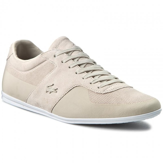 Sneakers LACOSTE - Turnier 216 1 Cam 7-31CAM0157334 Lt Gry/Suede