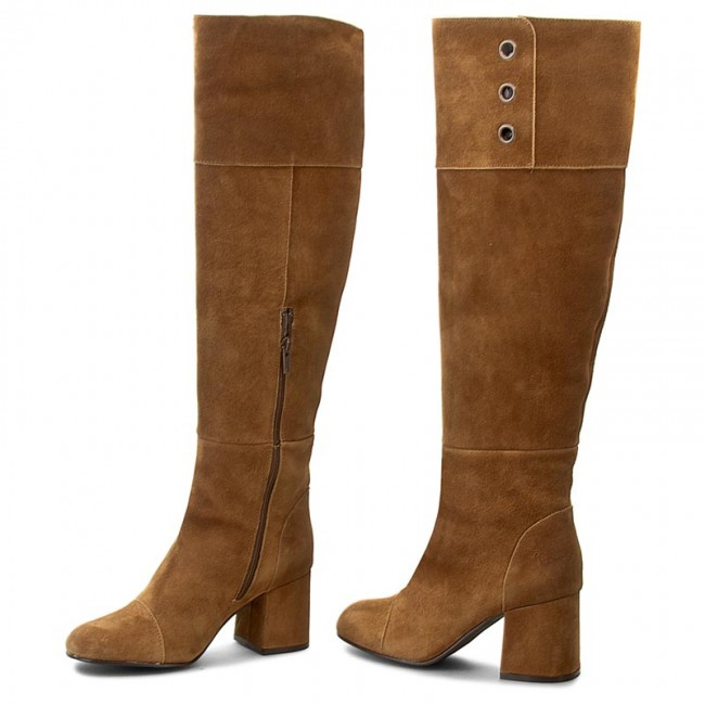 31a3c91d4a5 Knee High Boots FLY LONDON - Tito P143789006 Camel - Jackboots ...