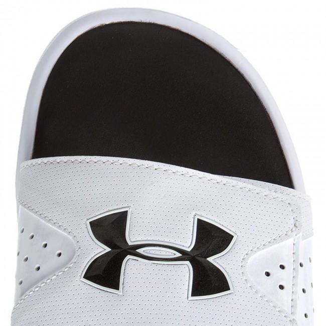 Slides UNDER ARMOUR - Ua Men s Ignite IV Sl 1252510-100 Blk Blk Wht -  Flip-flops - Swimming - Men s - Sport - www.efootwear.eu 980929b090