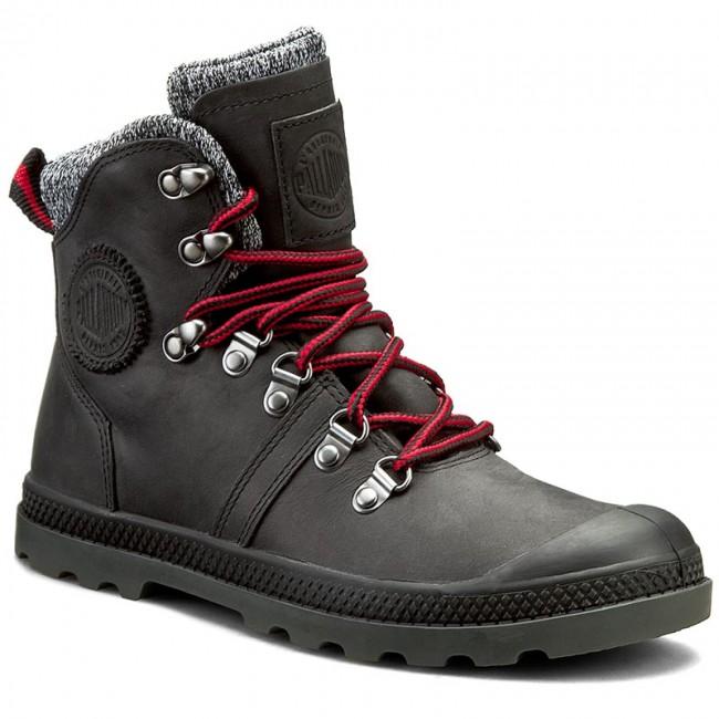 Hiking Boots PALLADIUM. Pallabrouse Hikr Lp 95140-041-M Black/Red/Castlerock
